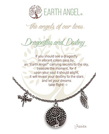 Earth Angel Necklace - Sentiment - Dragonflies & Destiny | Hallmark Awesome Gifts