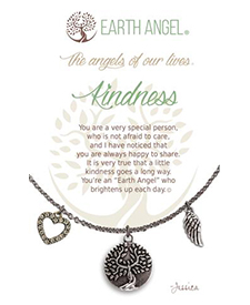 Earth Angel Necklace - Sentiment - Kindness | Hallmark Awesome Gifts