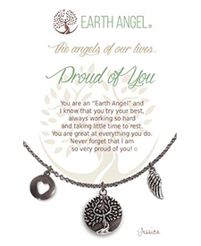 Earth Angel Necklace - Sentiment - Proud of You | Hallmark Awesome Gifts