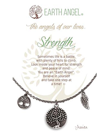 Earth Angel Necklace - Sentiment - Strength | Hallmark Awesome Gifts