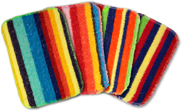 Colourful Scrubbie cleaners, Hallmark Awesome Gifts