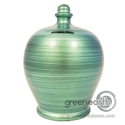 Terramundi Money Pot - Metallic - Green| Hallmark Awesome Gifts