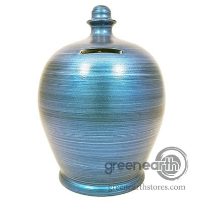 Terramundi Money Pot - Metallic - Blue | Hallmark Awesome Gifts