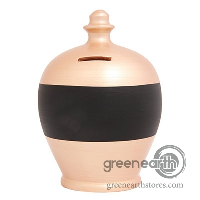 Terramundi Money Pot - Blackboard - Rosegold | Hallmark Awesome Gifts
