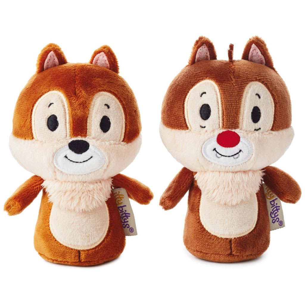 itty bittys® Stuffed Animal - Disney - Chip & Dale| Hallmark Awesome Gifts