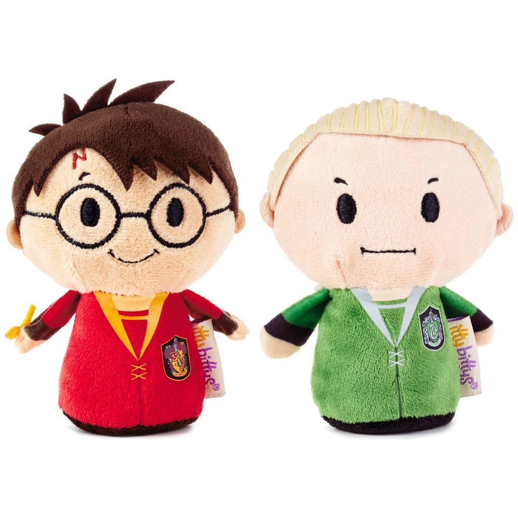 itty bittys® Harry Potter™ Quidditch™ Pair Harry™ and Draco™  | Hallmark Awesome Gifts