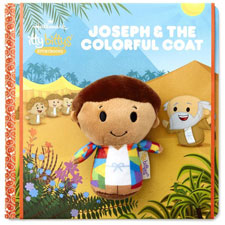 Hallmark itty bittys® Storybook & Stuffed Animal - Joseph and the coat of many colours | Hallmark Awesome Gifts