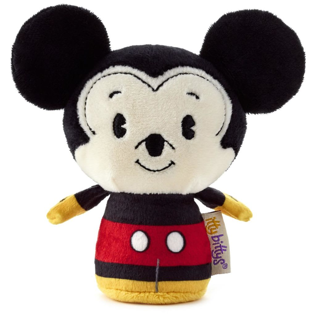 itty bittys® Stuffed Animal - Disney - Mickey Mouse | Hallmark Awesome Gifts