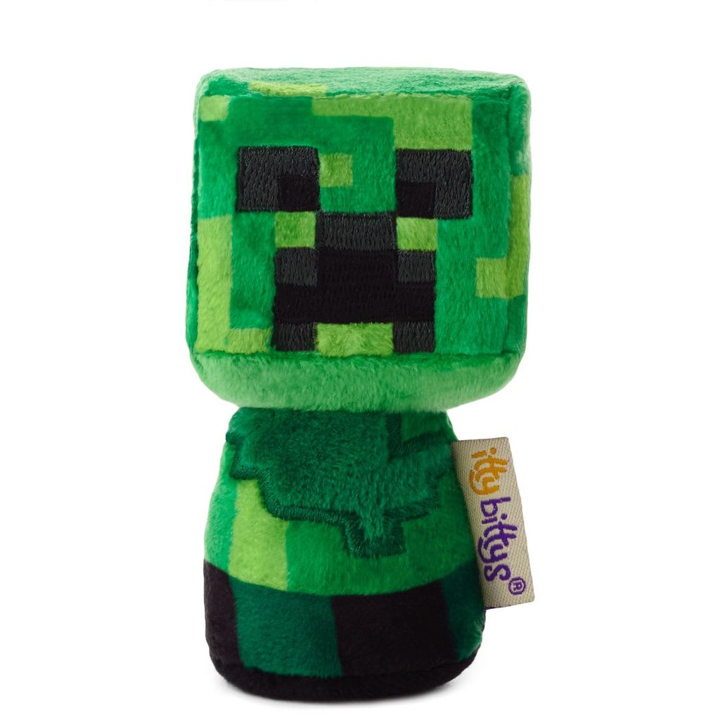 itty bittys® Minecraft Creeper | Hallmark Awesome Gifts