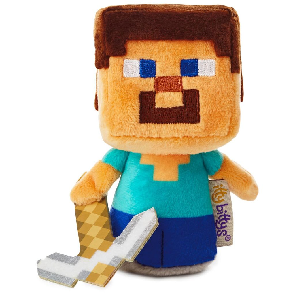 itty bittys® Minecraft Steve | Hallmark Awesome Gifts