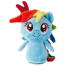 itty bittys® Rainbow Dash my little pony Stuffed Animal | Hallmark Awesome Gifts
