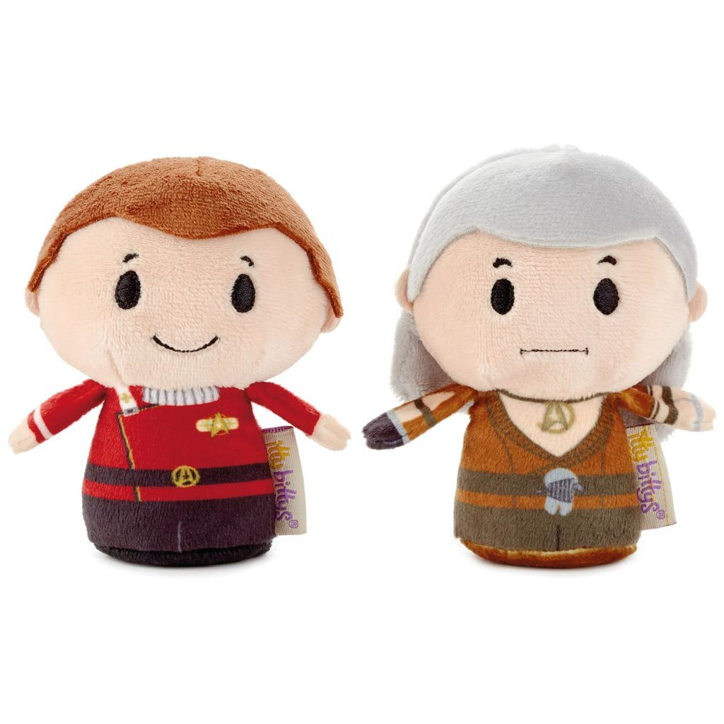 itty bittys® Star Trek II: The Wrath of Khan™ Kirk™ and Khan™  | Hallmark Awesome Gifts