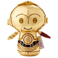 itty bittys® C-3PO limited edition Stuffed Animal | Hallmark Awesome Gifts