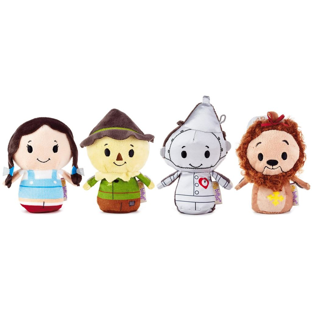 itty bittys® The Wizard of Oz™ Stuffed Animals, Collector Set of 4 | Hallmark Awesome Gifts