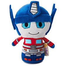 itty bittys® Optimus Prime Transformers Stuffed Animal | Hallmark Awesome Gifts