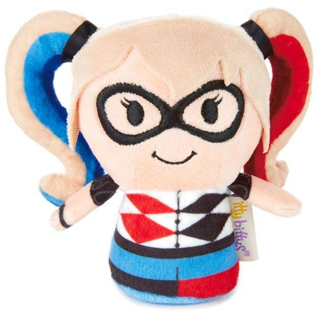 itty bittys® Stuffed Animal - DC Super Hero Girls™ Harley Quinn™ | Hallmark Awesome Gifts
