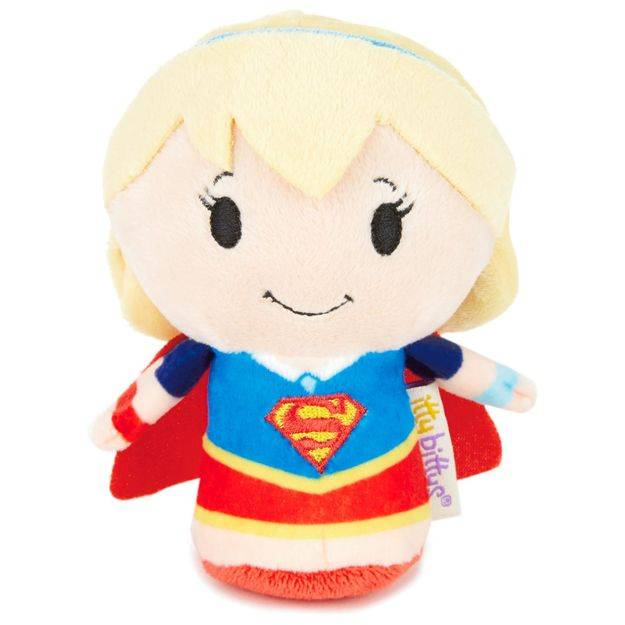 itty bittys® Stuffed Animal - DC Super Hero Girls™ Supergirl™  | Hallmark Awesome Gifts