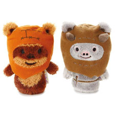 itty bittys® Chief Chirpa and Wicket 2 piece set Stuffed Animal | Hallmark Awesome Gifts