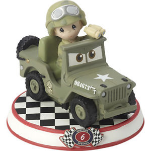 Sarge, Age 6, Disney Cars Precious Moments Collection, Hallmark Awesome Gifts