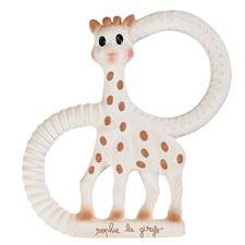 Sophie the giraffe - very soft teething Ring | Hallmark Awesome Gifts