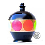 Terramundi Money Pot - Creative - Black & Aqua | Hallmark Awesome Gifts