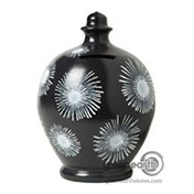 Terramundi Money Pot - Creative - Black & White Fireworks | Hallmark Awesome Gifts