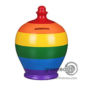 Terramundi Money Pot - Creative - Rainbow Stripes| Hallmark Awesome Gifts